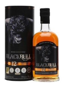 Black Bull 12 Year Blended Scotch Whiskey 750ml