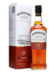Bowmore 15 Year Single Malt Whiskey 750ml