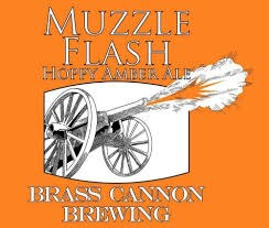 Brass Cannon Muzzle Flas Amber