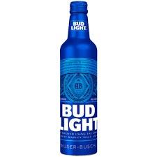 Bud Light Aluminium Sinle or 8pk 16oz Bottle