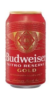 Budweiser Nitro Reserve Gold 6pk 12oz Cans