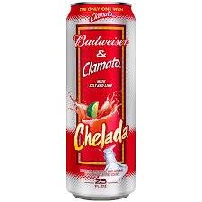 Budweiser Clamato 24oz Cans