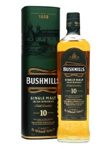 Bushmills 10 Year  Irish Whiskey 750ml