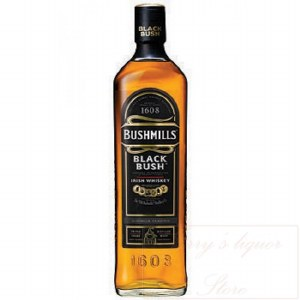 Bushmills Black Irish Whiskey 1.75L