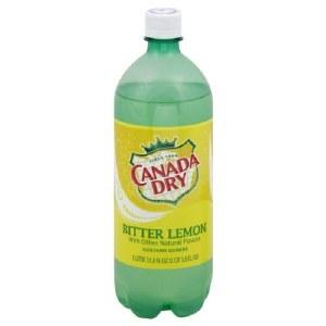 Canada Dry Bitter Lemon 1L