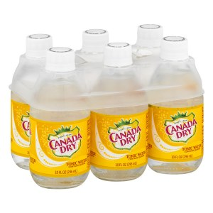 Canada Dry Tonic Water 10oz Bottles