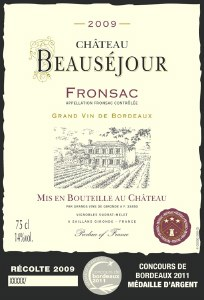 Chateau Beausejour Fronsac 750ml