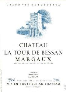 Chateau La Tour De Bessan Margaux 750ml