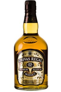 Chivas Regal 12 Year Blended Scotch Whiskey 750ml