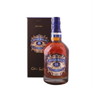 Chivas Regal 18 Year Blended Scotch Whiskey 750ml