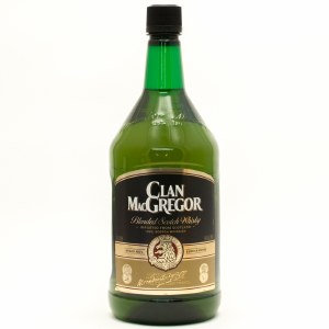 Clan Macgregor Blended Scotch Whiskey 1.75L