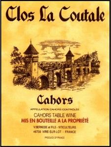 Clos La Coutale 750ml