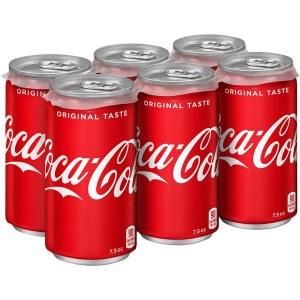 Coca Cola 6pk or Single Can