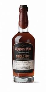 Cooper Fox American Peachwood Single Malt Whiskey 750ml