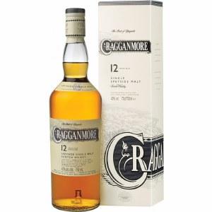 Cragganmore 12 Year Speyside Single Malt Whiskey 750ml
