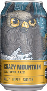 Crazy Mountain Amber Ale 6 Pack Cans