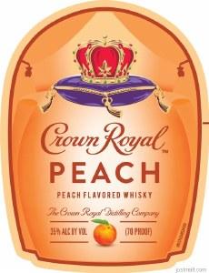 Crown Royal Peach Whiskey 750ml