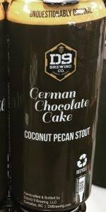 D9 German Chocolate Cake 4pk 16oz Cans