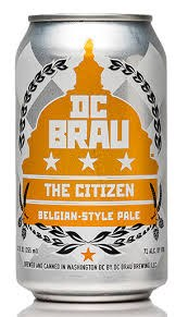DC Brau Citizen Belgium 6pk 12oz Cans