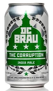 DC Brau Corruption IPA 6pk 12oz Cans