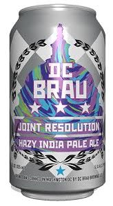 DC Brau Joint Resolution Hazy IPA 6pk 12oz Can