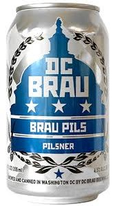 DC Brau Pilsner 12oz 6pk Cans
