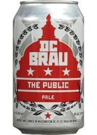DC Brau Public Pale Ale 12oz 6pk cans