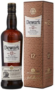 Dewars 12 Year Blended Scotch Whiskey 750ml