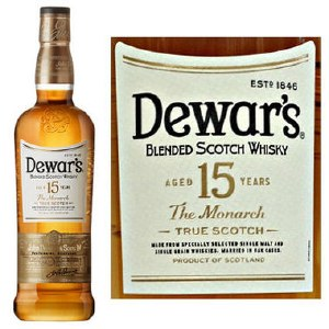 Dewars 15 Year Blended Scotch 750ml