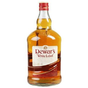Dewars White Label Blended Scotch Whiskey 1.75L