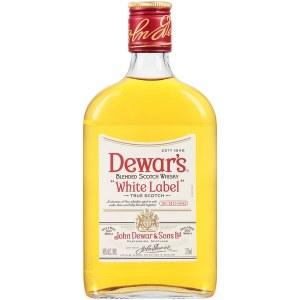 Dewars White Label Scotch Whiskey 375ml