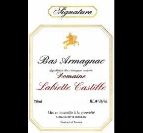 Domaine Labiette Signature Armagnac 750ml