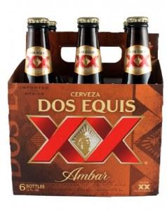 Dos Equis Amber 6 Pack Bottles