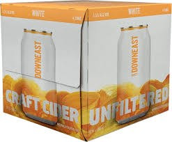 Downeast White Cider 4pk 12oz Can