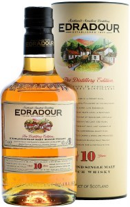 Edradour 10 Year Single Malt Whiskey 750ml