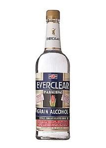 Everclear Grain Alcohol 750ml