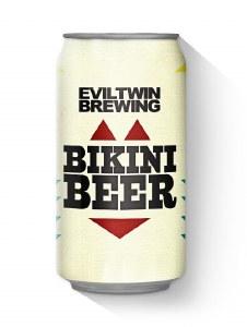 EvilTwin Bikini Beer 6 Pack Cansn