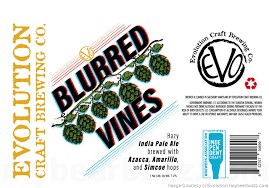 Evolution Blurred Vines Imperial Hazy Ale 4pk 16oz Cans