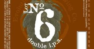 Evolution No 6 Doub IPA 4 Pack Bottles