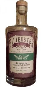 Filibuster Rye Whiskey 750ml