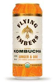 Flying Ember Hard Kombucha 6pk 12oz Cans