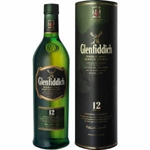 Glenfiddich 12 Year Single Malt Whiskey 750ml