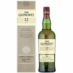 Glenlivet 12 Year Single Malt Whiskey 750ml