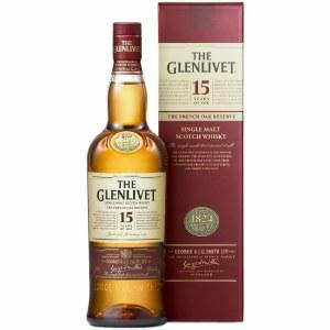 Glenlivet 15 Year Single Malt Whiskey 750ml