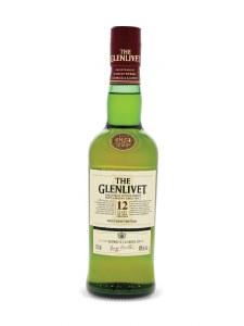 Glenlivet 12 Year Single Malt Whiskey 375ml