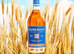 Glenmorangie The Cadboll American Oak Bourbon Cask 15 Year Single Malt Whiskey 750ml