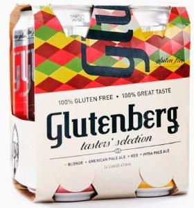 Glutenberg Glu Fre Mixed 4 Pack Cans