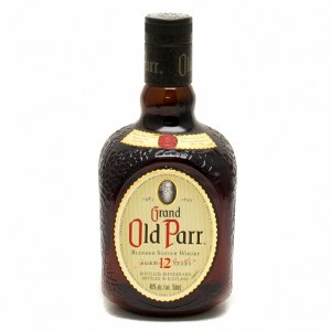 Grand Old Parr Blended Scotch Whiskey 750ml