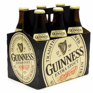 Guiness Extra Stout 24oz Bottles