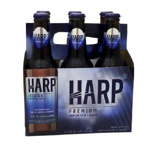 Harp Premium Lager 6 Pack Bottles